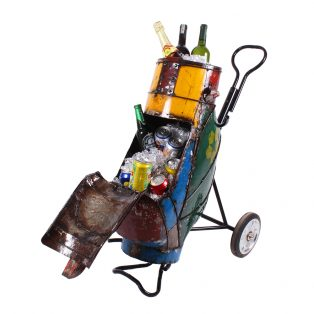 Hole in one beverage cooler