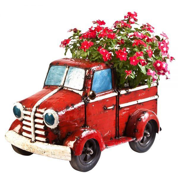 Mini pick up truck planter