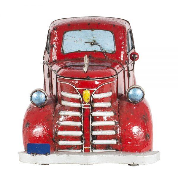 Metal firetruck cooler