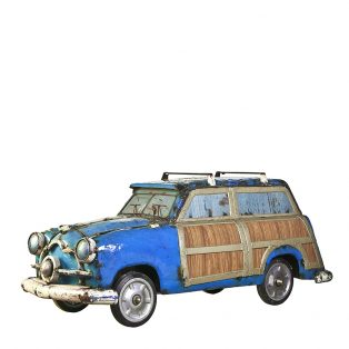 Woody Wagon '64 - Blue
