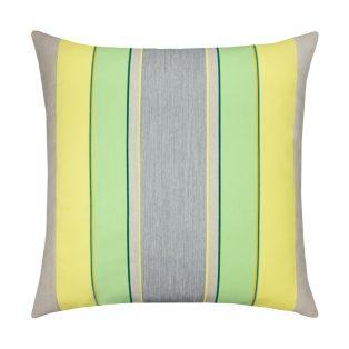 20 Square Designer Throw Pillow Citrus Stripe