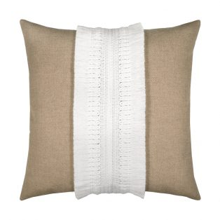20 Square Designer Throw Pillow Gobi Sand