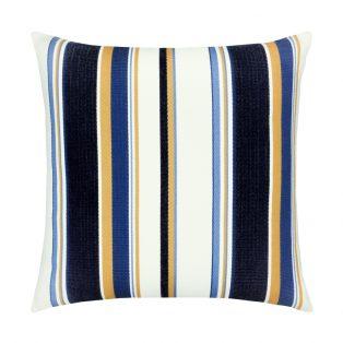 20 Square Designer Throw Pillow Harbor Stripe