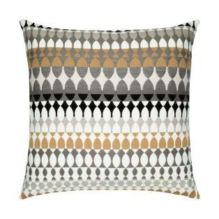 20 Square Designer Throw Pillow Modern Oval Dune