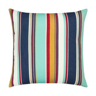 20 Square Designer Throw Pillow Sicily Stripe