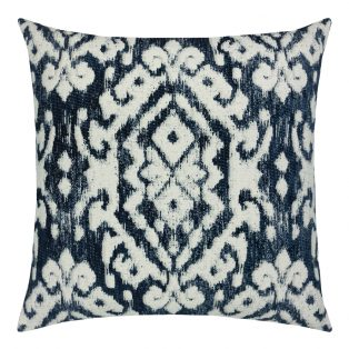 22 Square Designer Throw Pillow Bakhmal Indigo