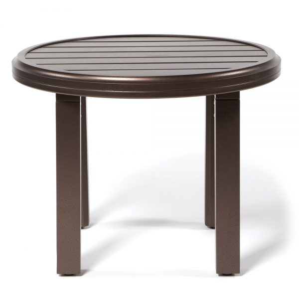 Amci 24 Round Side Table Front