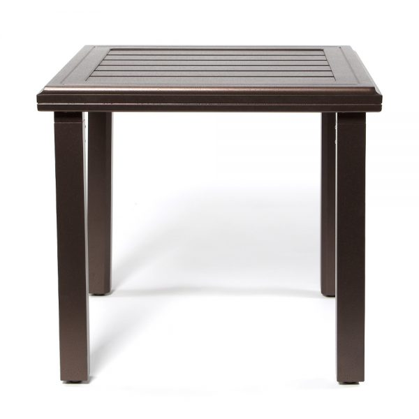 Amci 24 Square Side Table Front