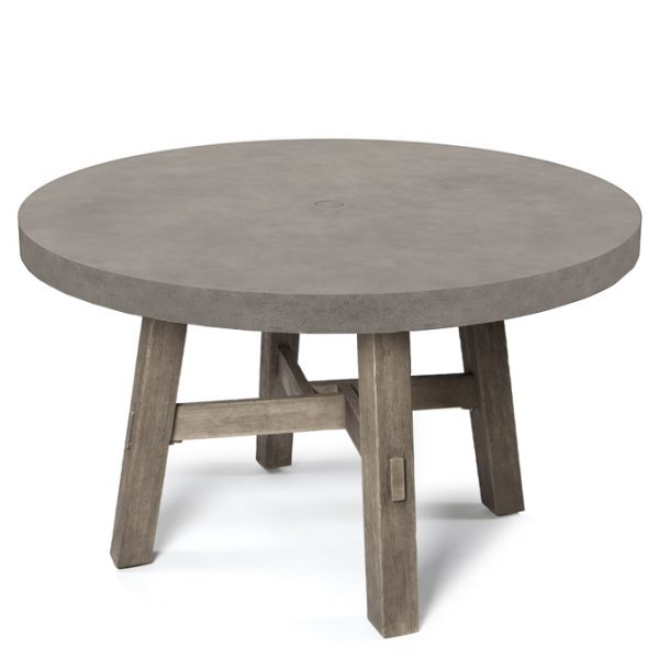 Amherst 50 Round Dining Table Ebel Today S Patio