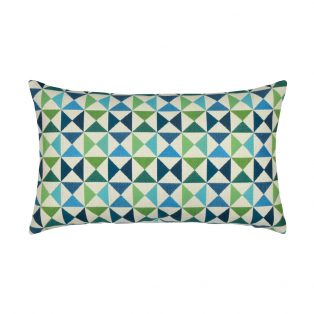 Designer Lumbar Pillow Bermuda