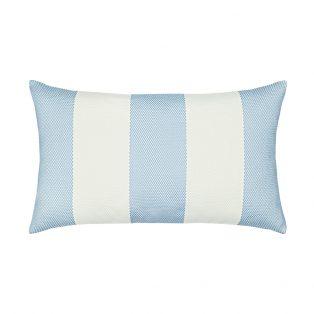 Elaine Smith Designer Lumbar Pillow Cabana Cloud