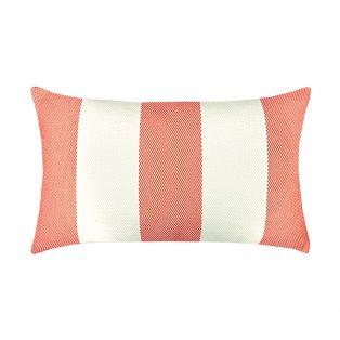 Elaine Smith Designer Lumbar Pillow Cabana Melon