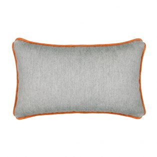 Elaine Smith Designer Lumbar Pillow Cashmere Fog