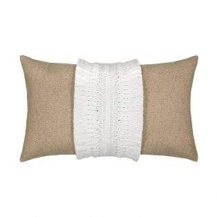 Elaine Smith Designer Lumbar Pillow Gobi Sand