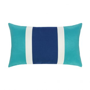 Elaine Smith Designer Lumbar Pillow Mustique