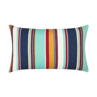 Elaine Smith Designer Lumbar Pillow Sicily Stripe