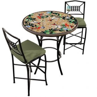 36 Round Counter Height Bistro Set
