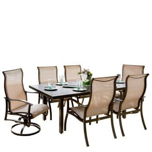 Albany Sling 7pc Dining Set