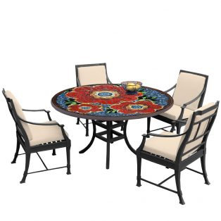 Zinnia 60d Bistro Olympia Chairs Bk Hb