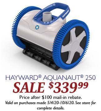 Aquanaut 250 Hayward Days 2020