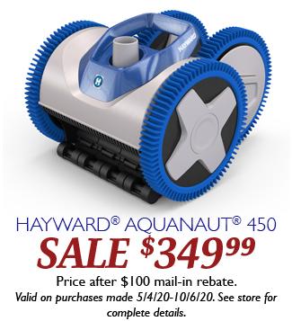 Aquanaut 450 Hayward Days 2020