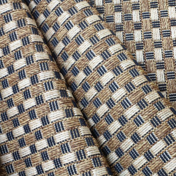 Treasure Garden Cobblestone Teak Fabric