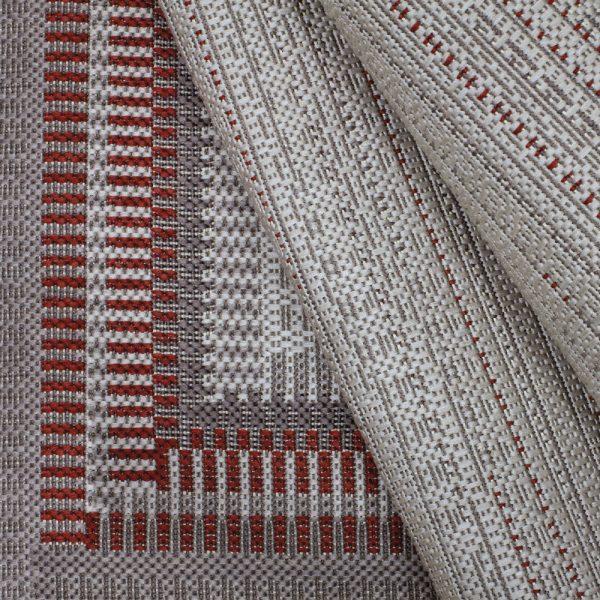 Treasure Garden Edge Chili Fabric