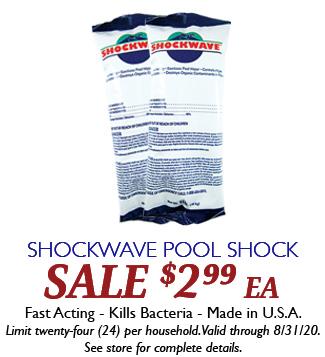 Shockwave Pool Shock