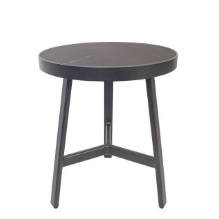 Marin Side Table Palazzo Black