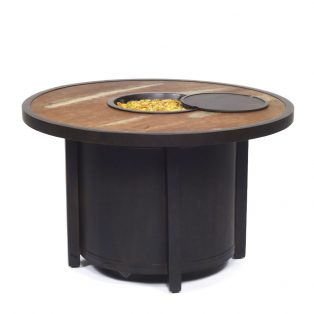 Classical 40 Round Firepit Ad Bronze