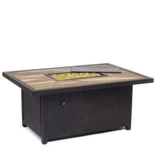 Classical Rect Firepit Ad Bronze