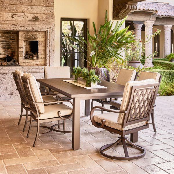 Sedona Swivel Dining Chair Cast Ash Life