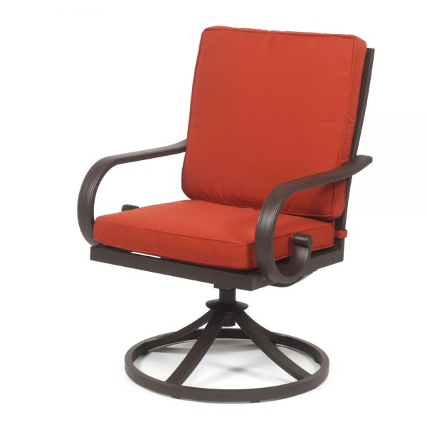 Sedona Swivel Dining Chair Terracotta