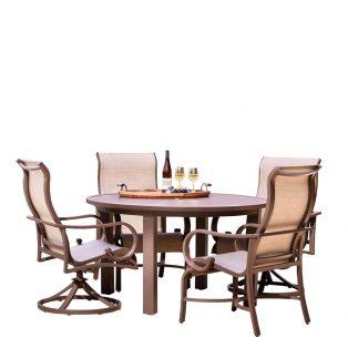 Sedona Sling 5pc Dining 2dc2sr Set