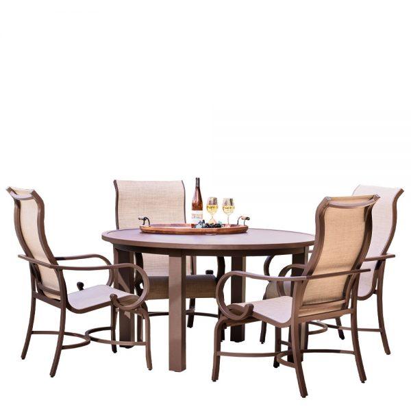 Sedona Sling 5pc Dining 4dc Set