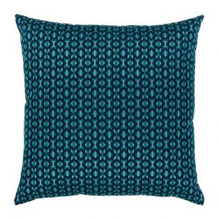 20 Square Designer Throw Pillow Alcazar Peacock