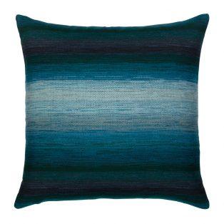 20 Square Designer Throw Pillow Horizon Deep Sea