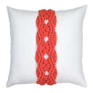 20 Square Designer Throw Pillow Palomar Melon