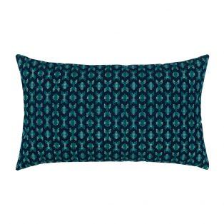 Designer Lumbar Pillow Alcazar Peacock