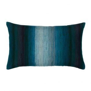 Designer Lumbar Pillow Horizon Deep Sea