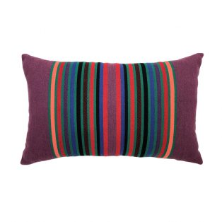 Designer Lumbar Pillow Serape Jewel